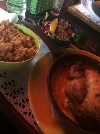 Popocatepetl: pollo picante