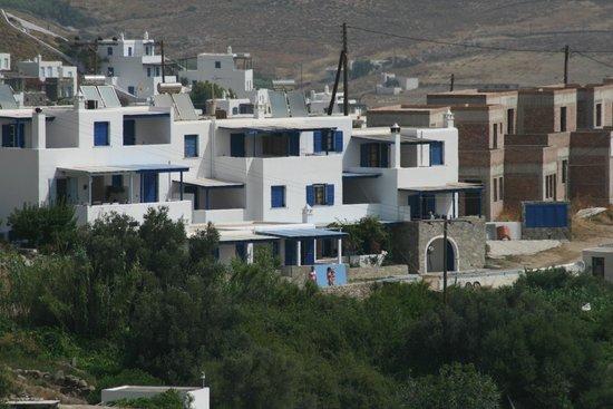 Maroussa's Apartments: Struttura Maroussa's appartment