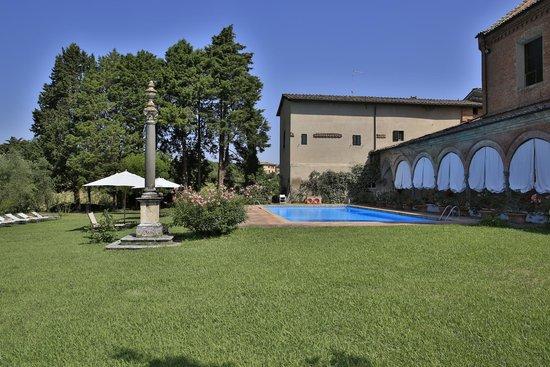 Hotel Certosa di Maggiano: Hotelansicht