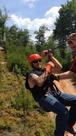 RidgeRunner Ziplines : Fun fun fun. Great staff