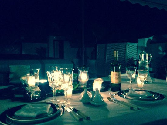 Cena in terrazza - Picture of Dar Seven, Marrakech - TripAdvisor