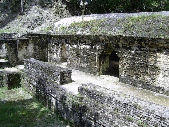 Ruines et musée de Cahal Pech : Large structure