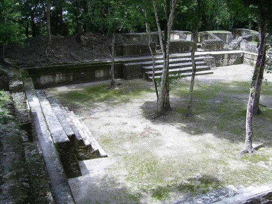 Museo y Ruinas Mayas Cahal Pech: Courtyard