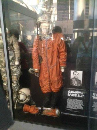 National Air and Space Museum: Тренировочный костюм Гагарина