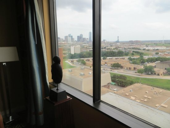 Hilton Anatole: View from room