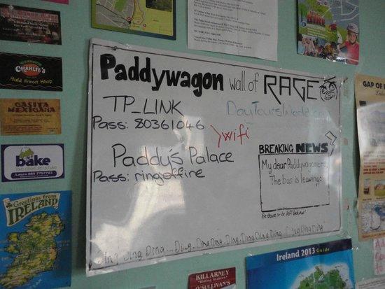 Paddy's Palace : стена в кухне