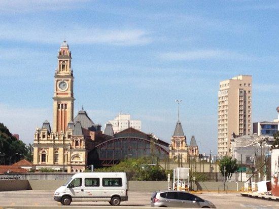 The Julio Prestes Cultural Center - Sala Sao Paulo: Vista para a Estação da Luz.