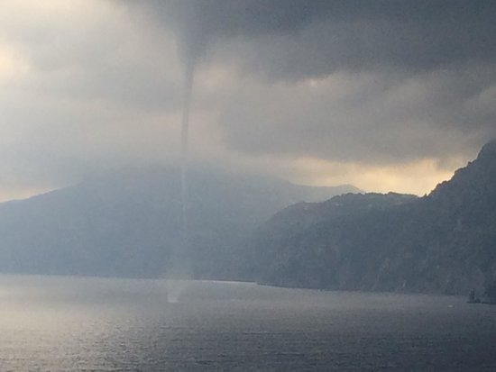 One Fire Beach: Funnel cloud
