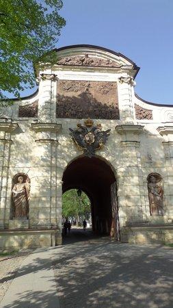 Peter-und-Paul-Festung (Petropawlowskaja Krepost): Entrada