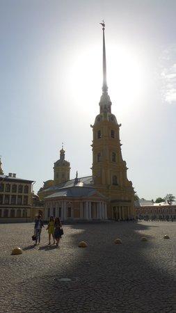 Peter-und-Paul-Festung (Petropawlowskaja Krepost): Iglesia