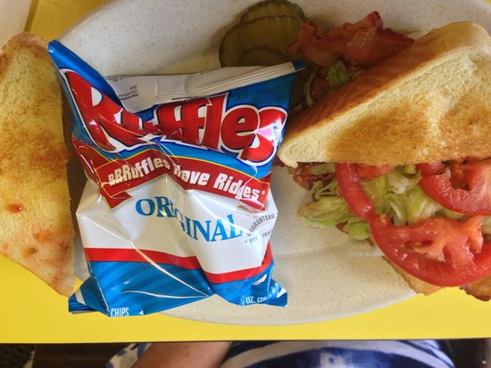 Cowboy's Corner: Cowboy Cafe BLT on Texas Toast