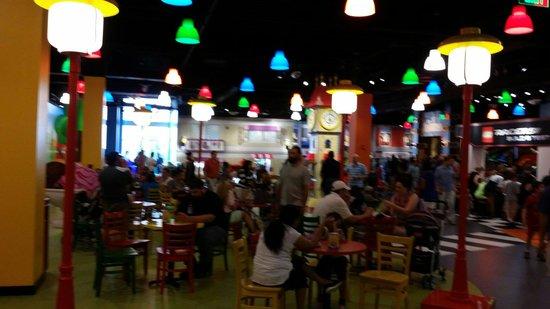 Legoland Discovery Center: Cafe