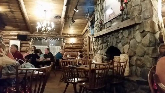 Log Jam Restaurant: Eat here!