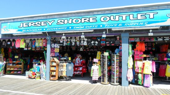 Ocean City Boardwalk: shop on the boardwalk