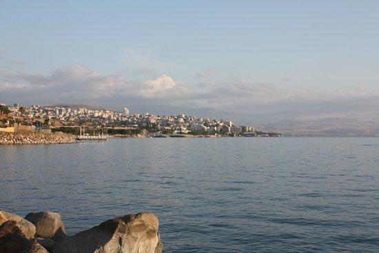 Nofim Hotel: Галилейское море