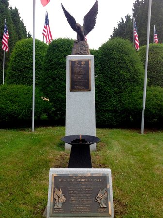 The Avenue of 444 Flags : The Eternal Flame