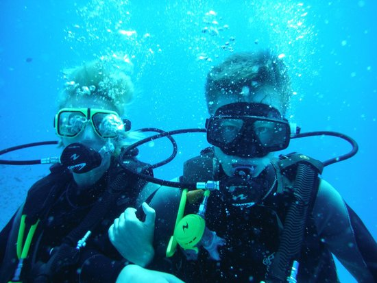Jungle Aqua Park: scuba diving