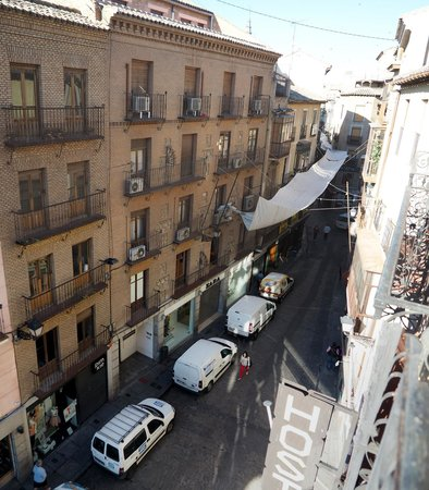 Hostal Centro : A view from our balcony
