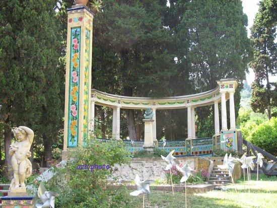 Jardins Fontana Rossa : A l'entrée