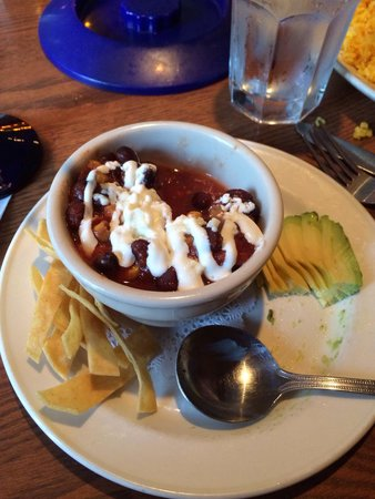 Agave Mexican Bistro Dos : Cup of chili