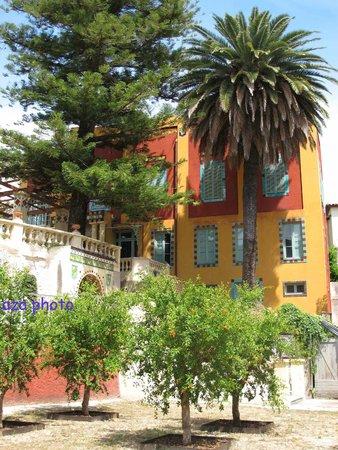 Jardins Fontana Rossa : Maison de réception des amis de V. Blasco Ibñez