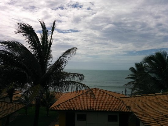 Ocean Palace Beach Resort & Bungalows: View of the ocean from the balacony of the bungalow.
