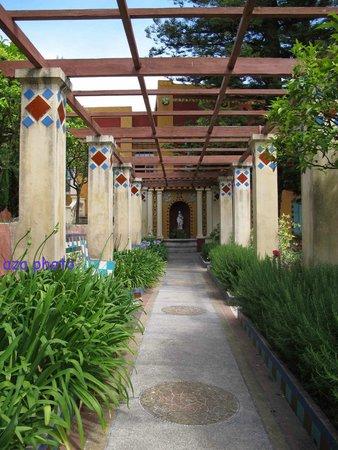 Jardins Fontana Rossa : Allée Bacchus