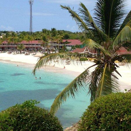 Pineapple Beach Club Antigua: View from the Gazebo