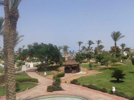 Radisson Blu Resort, Sharm El Sheikh: view from lobby