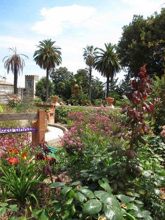 Jardins Fontana Rossa : vue sur le Belvédère