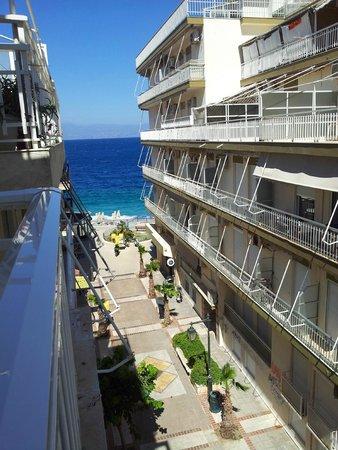 Hotel Marko : Вид с балкона