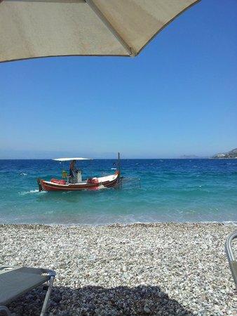 Hotel Marko: Выход на пляж