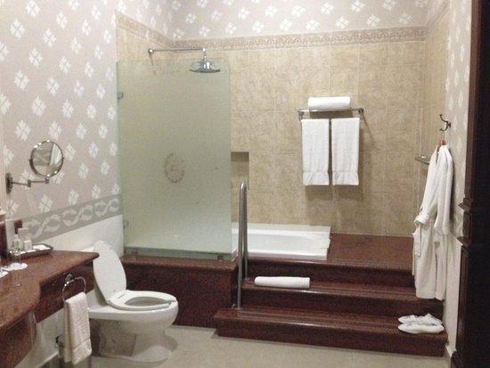 Hotel Mansion Merida on the Park: Bathroom