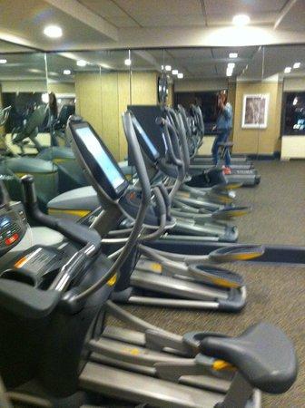 Park Central Hotel New York: Salle fitness tout équipé