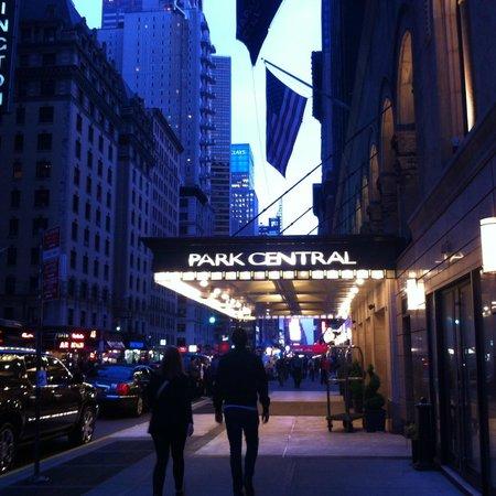 Park Central Hotel New York: Entrée de l'hôtel, très luxueuse