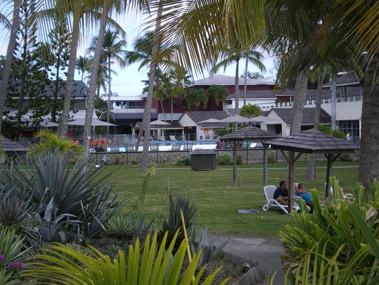 La Creole Beach Hotel & Spa: photo des jardins