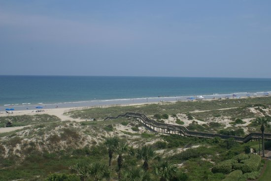 The Ritz-Carlton, Amelia Island: The view from the balcony