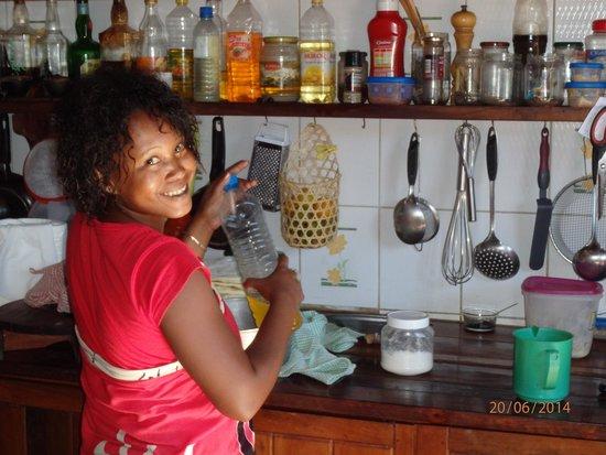 Gîte Guyan : la patrone