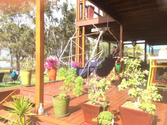 Winfield, Australia: The deck