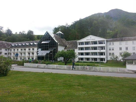 Fretheim Hotel: Vista do hotel Fretheim