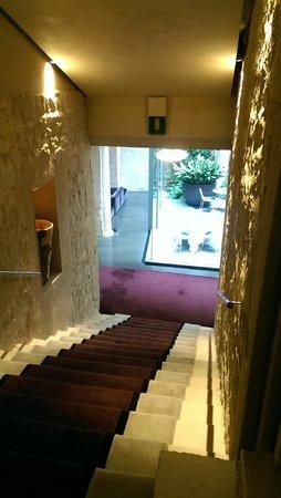 Mercer Hotel Barcelona: stairwell