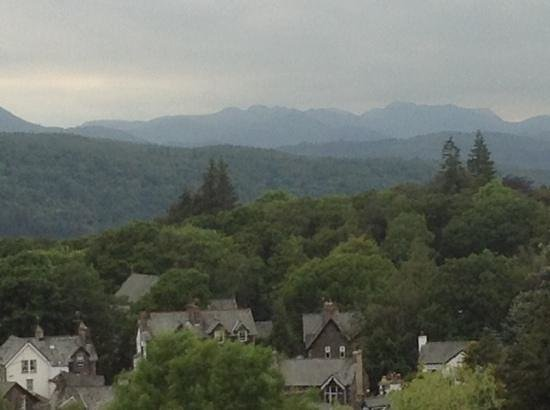 Hillthwaite Hotel: view from langdale room