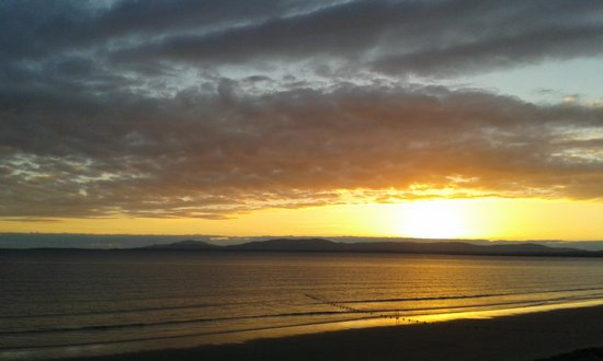 Sandhouse Hotel: sunset at Rossnowlagh from the Sandhouse