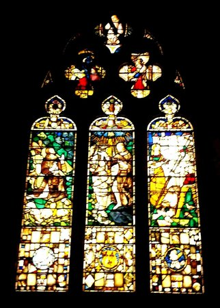 Le musée d'art de Philadelphie : French Gothic Chapel and Composite Triple Window, 15th–early 16th century, France.