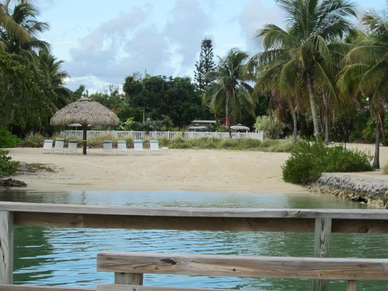 Coral Bay Resort: looking back from dock