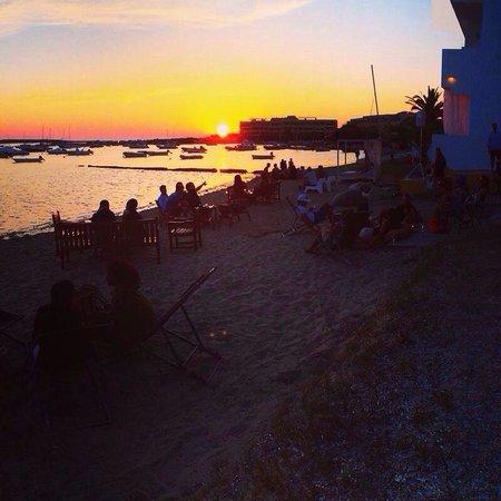 Hostal La Savina: Sunset en La Savina
