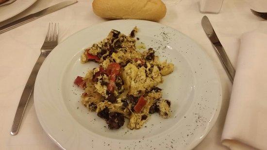 Restaurante La Solera: Revuelto de morcilla