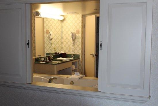 Niagara Falls Marriott Fallsview Hotel & Spa: Part of the bathroom