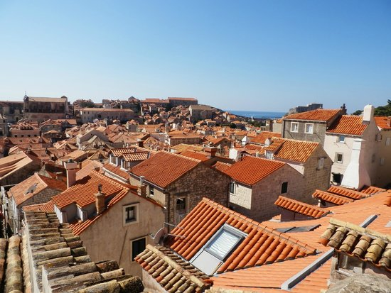 Hilton Imperial Dubrovnik: Atop the walled city of Dubrovnik Croatia
