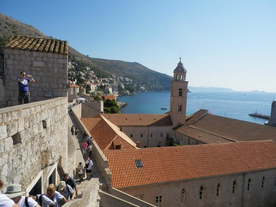 Hilton Imperial Dubrovnik: View from the walled city of Dubrovnik